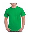 Felgroene team shirts voor volwassen